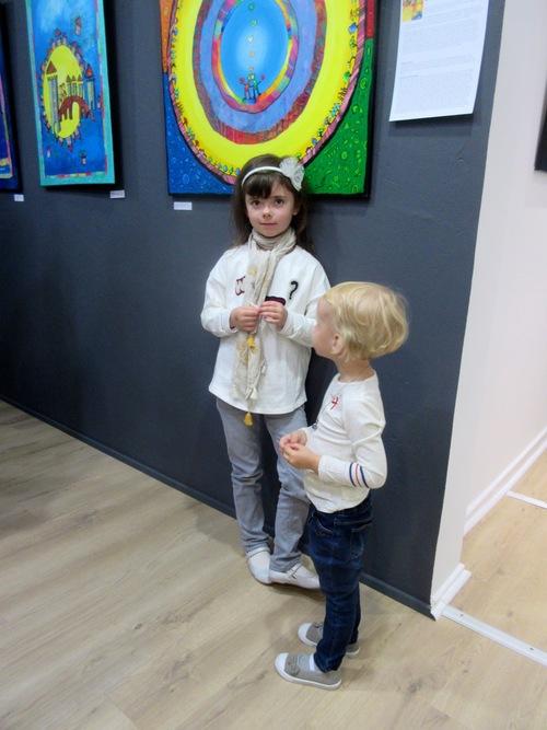 Vernissage à la galerie Deza (suite)