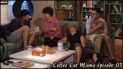 Coffee cat mama épisode 03 vostfr