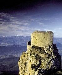 chateau de Quéribus à Cucugnan