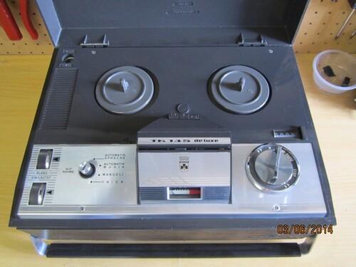 Magnétophone Grundig TK 145 de Luxe