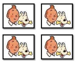 Thème de classe Tintin par Karen