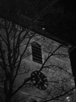 abats-sons et horloge du beffroi de Gembloux