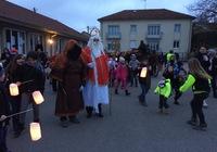 Visite de Saint-Nicolas à Haudainville