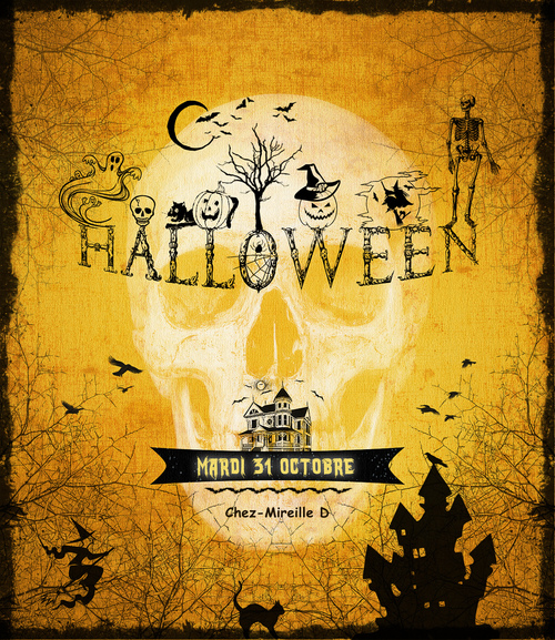 C'est Halloween! (Carte)