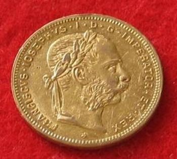 Monnaie 20 francs François Joseph Ier 1884 a