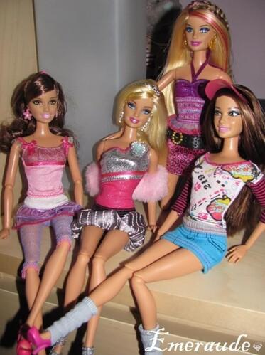 Barbie Fashionistas Sassy, Sweetie, Glam, Sporty 01