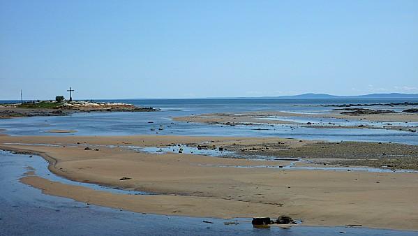 Tadoussac marée basse pano