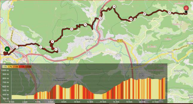 Tour des Ballons des Vosges - J1