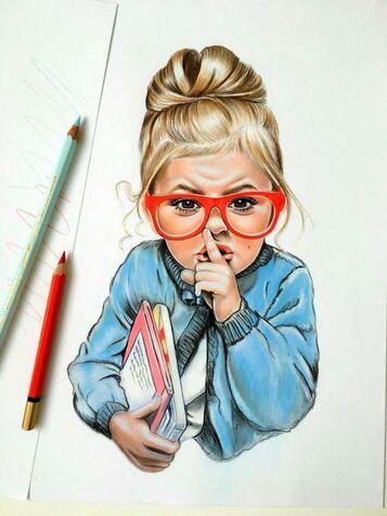 16+ Cute Color Pencil Little Kid Drawings,Kids Drawing - Drawingpencilwiki.com
