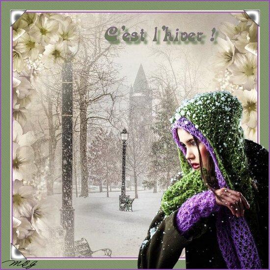 C'est l'hiver