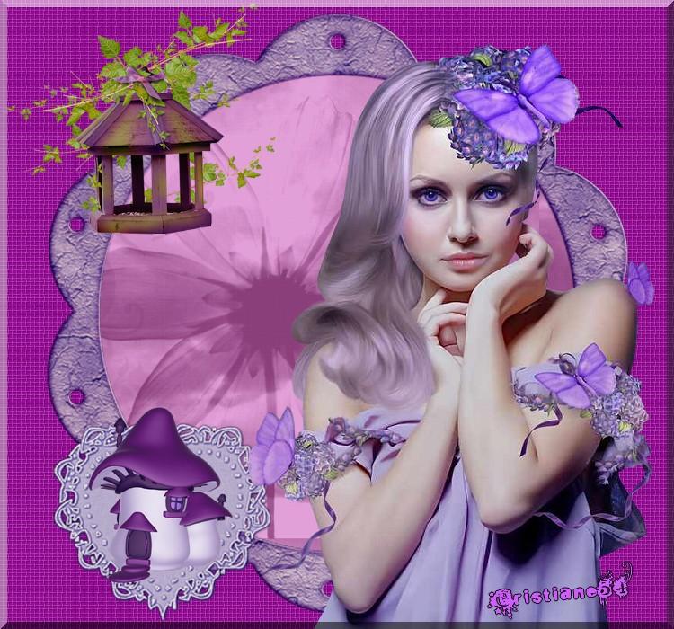 Défi violet pour mon amie Kikoonette