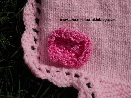 Une Envergure rose pour un hiver qui commence tout doux...