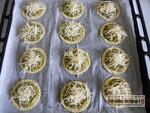Tartelettes au pesto verde