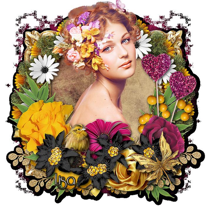 "Ma réalisation du tuto ""Flowersun"""