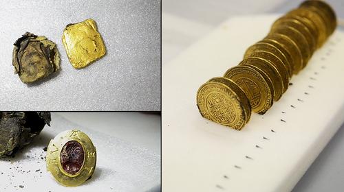 """Un """"trésor"""" découvert à Cluny lors de fouilles pour retrouver l'ancienne abbaye"""