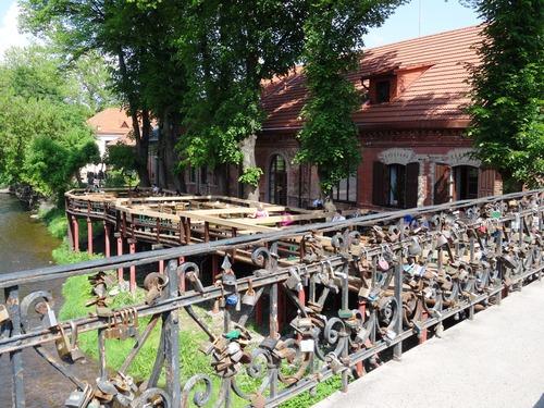 Vilnius : la république indépendante d'Uzupio et l'église Vierze Mère de Dieu (photos)