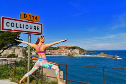 Week-end yoga à la fête de l'Inde de Collioure