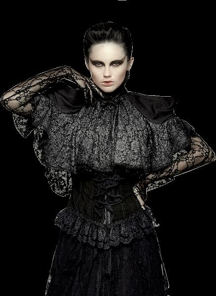 Tubes femmes gothiques création 16