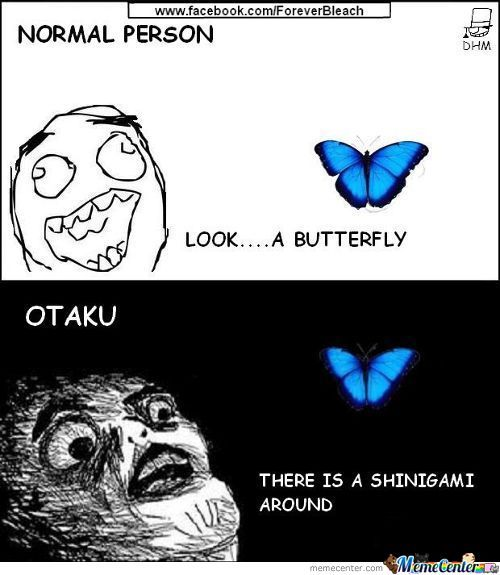 la vision d'un otaku