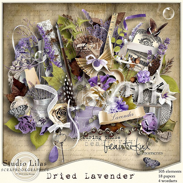 """Dried Lavender"" by Lilas Designs"