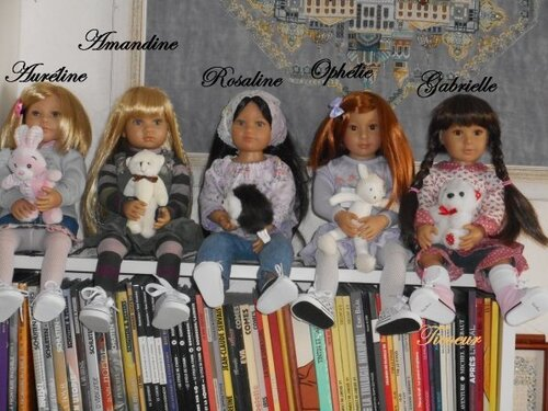 Mes 21 demoiselles