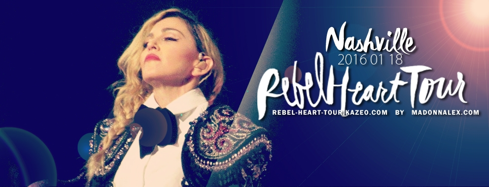 Madonna Rebel Heart Tour Nashville