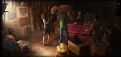 La ménagerie magique