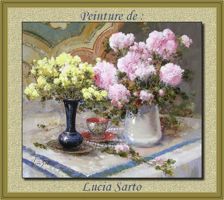 Peinture de : Lucia