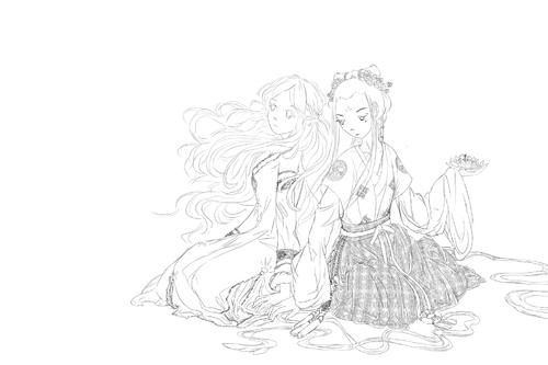 Fanart de Chang Ge Xing (La Princesse vagabonde)