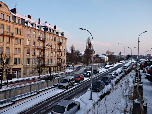 Centre Pompidou Metz neige 10