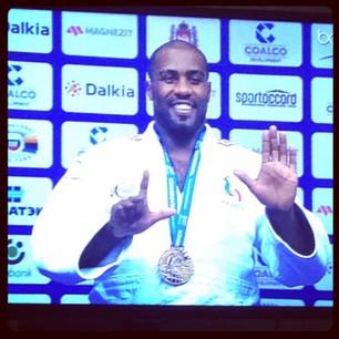 Vidéo Teddy Rinner champion du monde Judo pour la 7ème fois en 8 ans