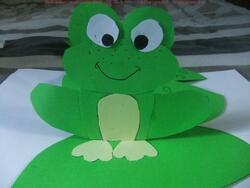 Projet en arts : les grenouilles