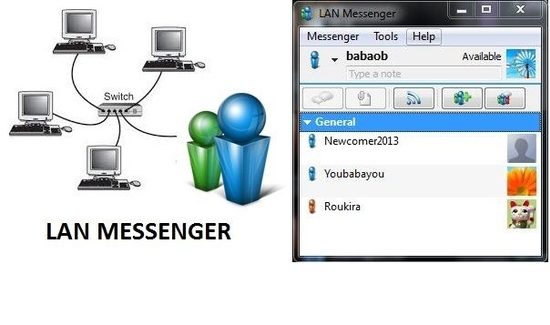 lan messenger 0 icon