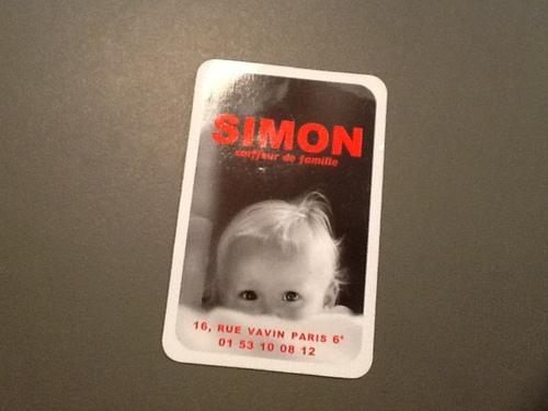 Simon (mon) coiffeur de famille