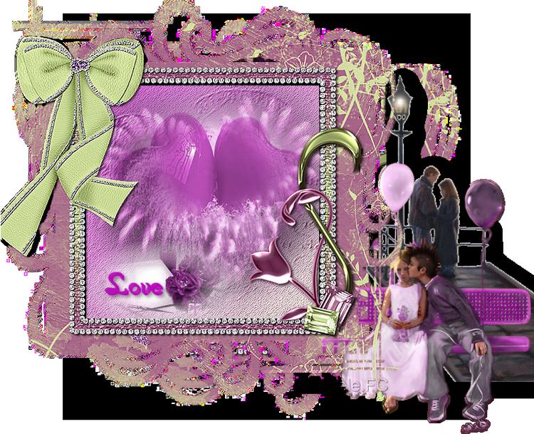 cluster violet chez Resoya