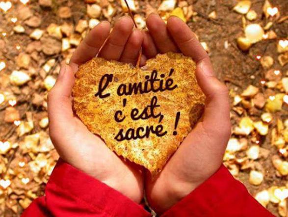 L'Amitié Rime avec Solidarité  ....