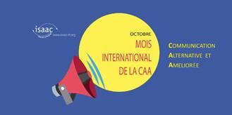 cover photo, L'image contient peut-être: texte qui dit 'isaac FRANCOPHON www. isaac- fr.org OCTOBRE MOIS INTERNATIONAL DELACAA COMMUNICATION ALTERNATIVE ET AMELIORÉE'