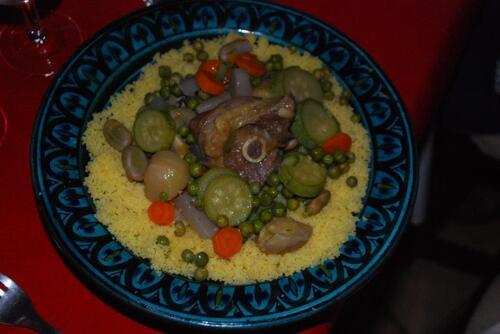 Couscous agneau