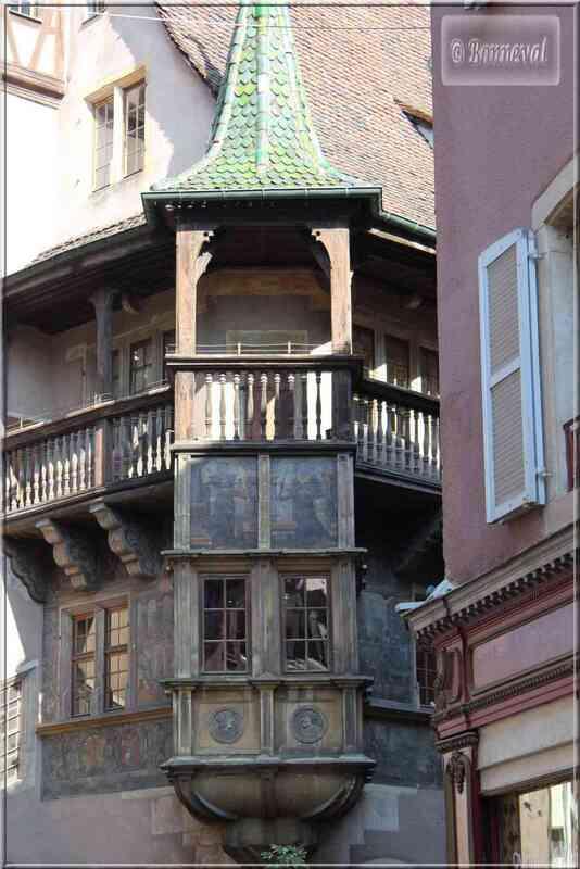 Alsace Haut-Rhin Colmar Maison Pfister l'oriel