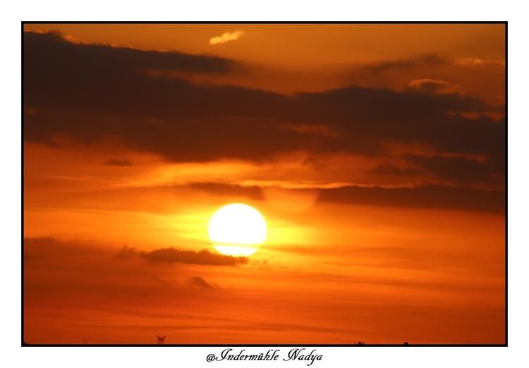 Coucher et lever du soleil