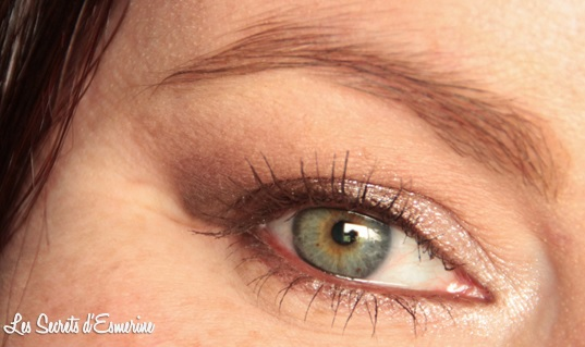 maquillage, neutre, makeup, marron, beige, kiko, color impact, rain smoky shades