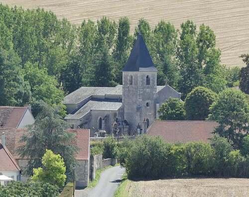 Château et Eglise de Billy (Allier)