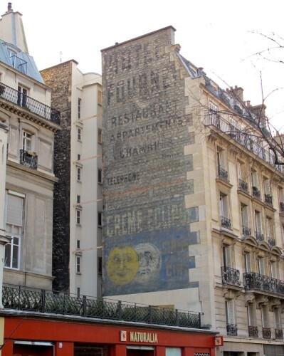Eclipse mur peint Batignolles Fournet 2