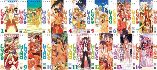 Love Hina (14 Tomes), Ken Akamatsu