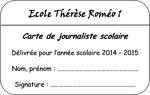 carte de journaliste école