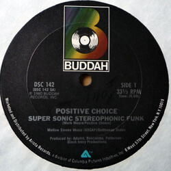 Positive Choice - Super Sonic Stereophonic Funk
