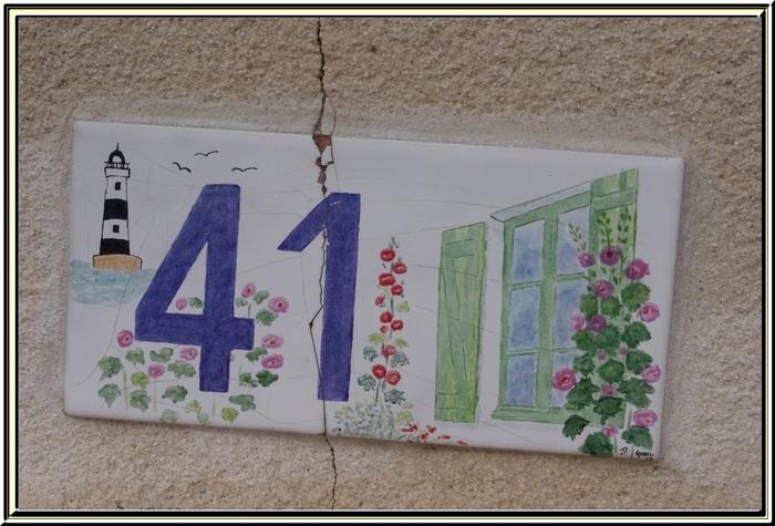 Quelques jolis numéros rencontrés lors de nos balades sur l'île d'Oléron