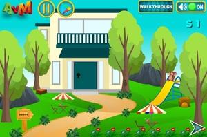 Jouer à AVM Escape forest soil house