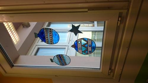 vitraux de Noël
