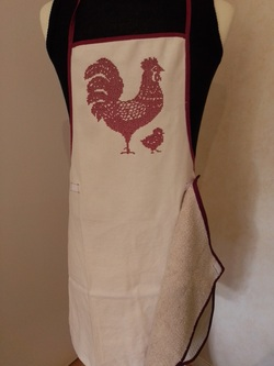 tablier REDWORK COQ